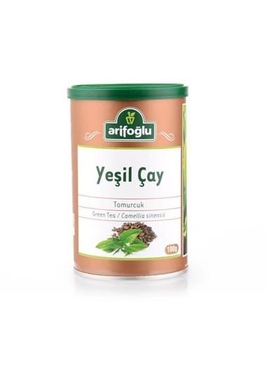 Arifoğlu Yeşil Çay (Tomurcuk) (Teneke Kutu) 100G Renksiz